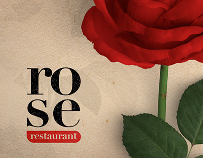 Rose Restaurant / Visual Identity