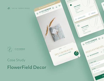 FlowerField Decor · Case study