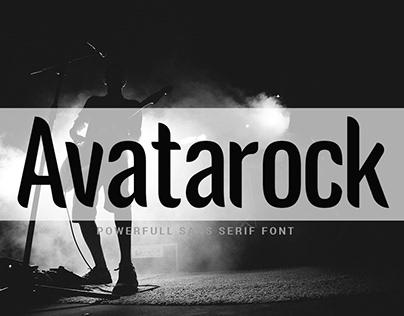 Avatarock - Free Font