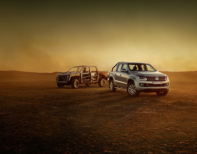 VW Amarok 'The Naked UTE'