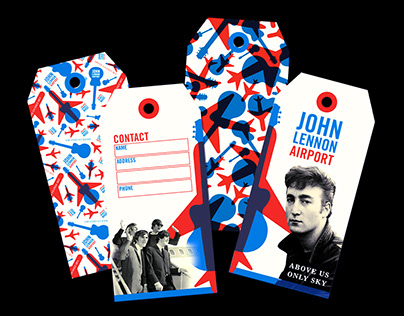 John Lennon Airport - Branding