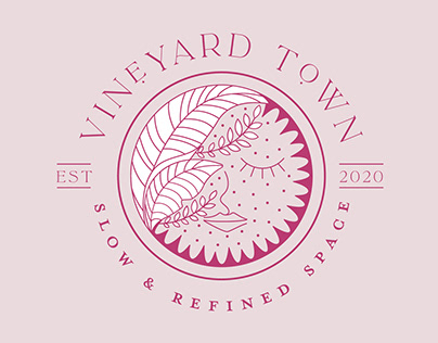 Vineyard Town Branding
