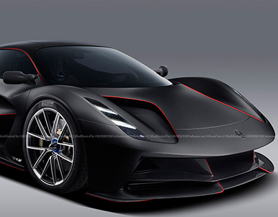2020 Lotus Evija Naked Carbon