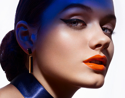 COLOR UP! - Beauty editorial for Schön! Magazine