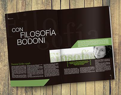 Typography magazine