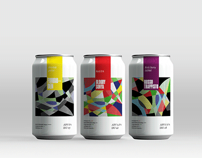 Sonya Krivaya beer packaging and identity (concept)