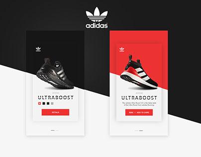 ADIDAS App UI UX