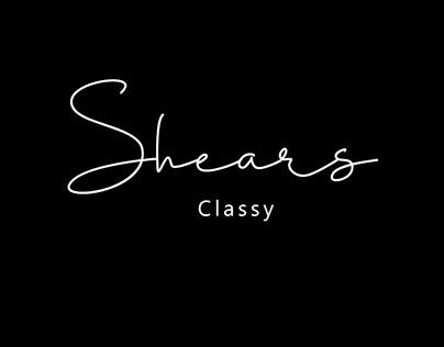 Free Shears Script Font