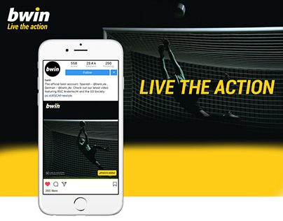 BWIN - Live the action