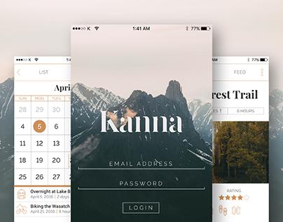 Kanna Outdoor Adventures App