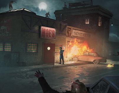 Simpsons Zombie Apocalypse