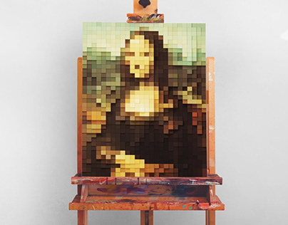 Voxelated Prints Colection