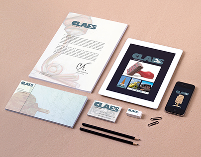 Logo and Brand Identity for Pop Artist Claes Oldenburg