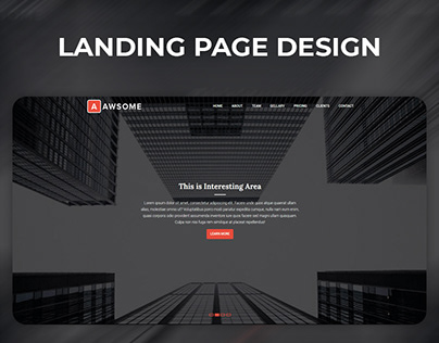 Awesome Web Template Design