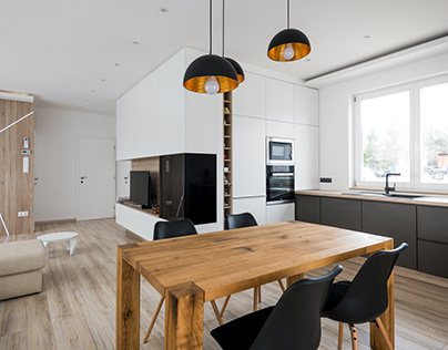 Modern living space by BALHUS