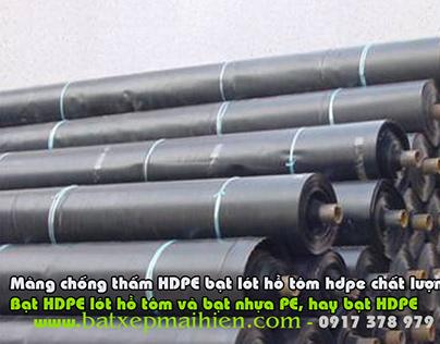 Bảng Giá Bạt Phủ Lót Ao Hồ Nuôi Thủy Sản, Bạt HPDE lót