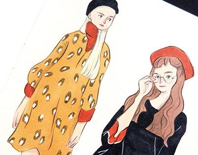 Fashion Doodles 2018