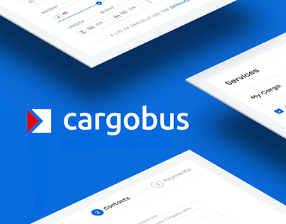 Identity and Web for Cargobus (courier services)