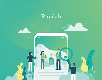 Branding Mobile App: Rupilah - Waste Management