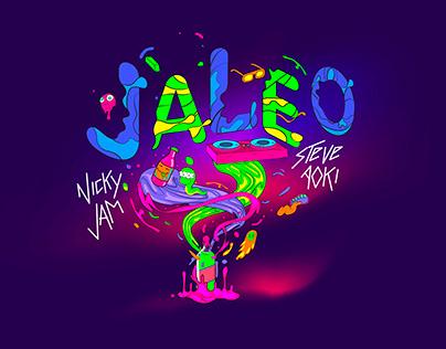 Campaña: Nicky jam - Steve Aoki / Jaleo