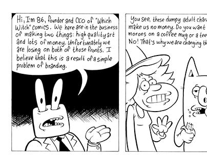 Daily comics