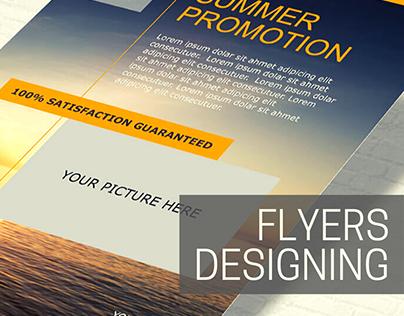 Flyers Designing