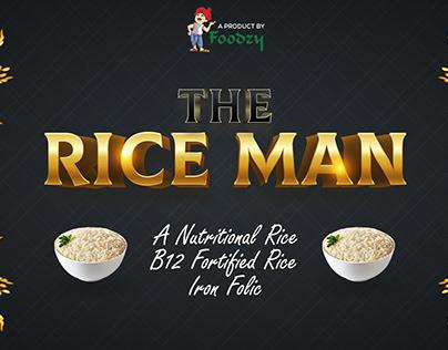 The Rice Man - Rice Bag Design