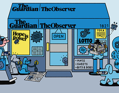 The Guardian - Subscription Campaign