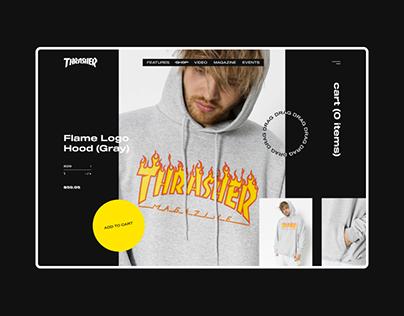 Thrasher Magazine — Website