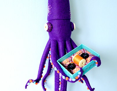 Button Eyed Giant Squid for LAIKA Show