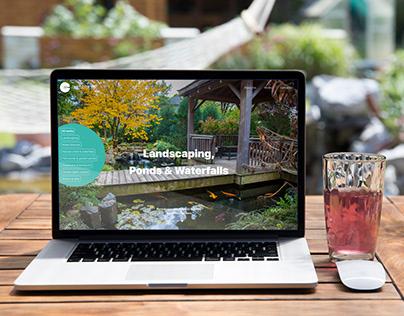 Fab Gardens - logo design & website