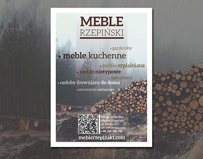 leaflet design - meblerzepinski.com