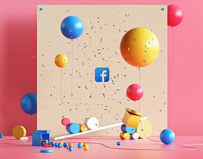 Facebook Illustrations