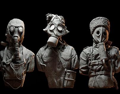 War Sculptures