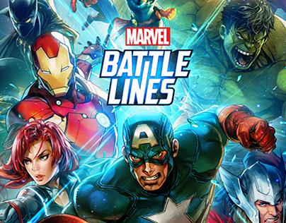 Mavel Battleline UI Concept design