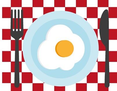 Como estrelar um ovo