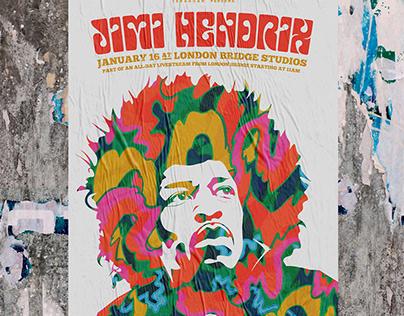Hendrix Poster Design
