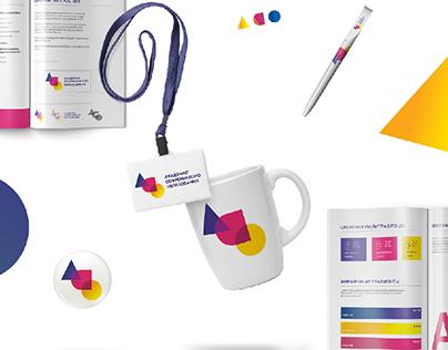 Geometric branding for additional education school