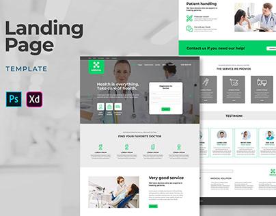 Landing Pages – Medical Center