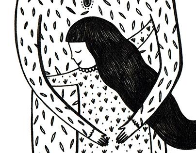 OS ABRAÇOS DA MINHA MÃE // MY MOTHER'S HUGS