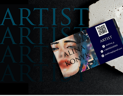 BUSINESS CARD FOR THE ARTIST