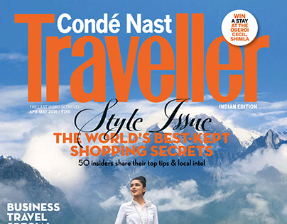 Conde Nast Traveller India April-May 2016