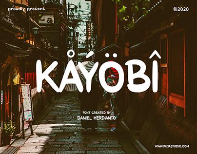 KAYOBI Font