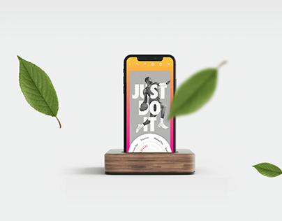 Poster Creating app