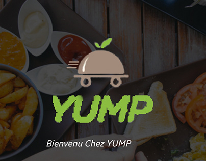 YUMP application de livraison.