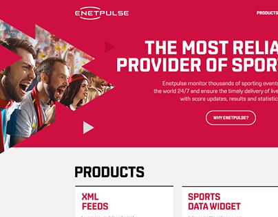 Enetpulse Website