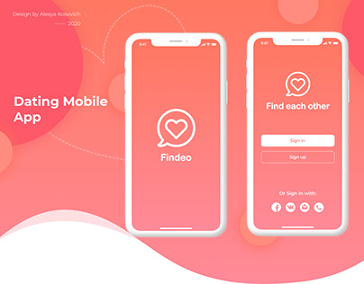 Dating Mobile App - Findeo
