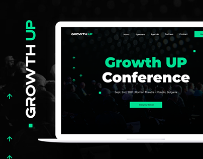 Growth Up Landing Page