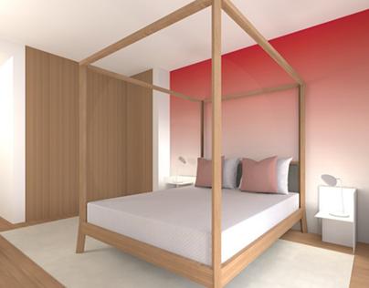 Projeto 3D Zen Residence