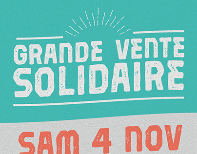 Vente Solidaire Emmaüs